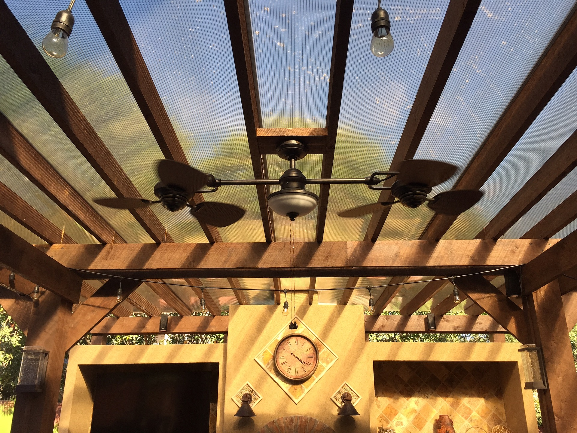 Outdoor Patio Lighting and Heat Lamps