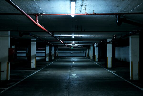 OHM installs parking lot lighting for safety