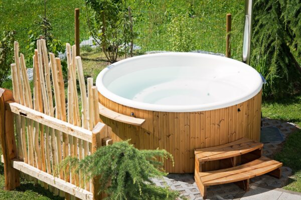 Call OHM for hot tub installation