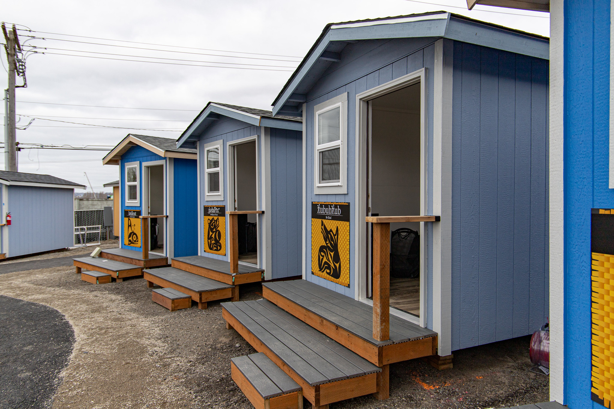 OHM Helps Puyallup Tribe Build Tiny House Village