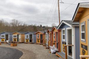 Puyallup Tribe tiny house village